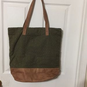 Merona lLarge Tote Bag